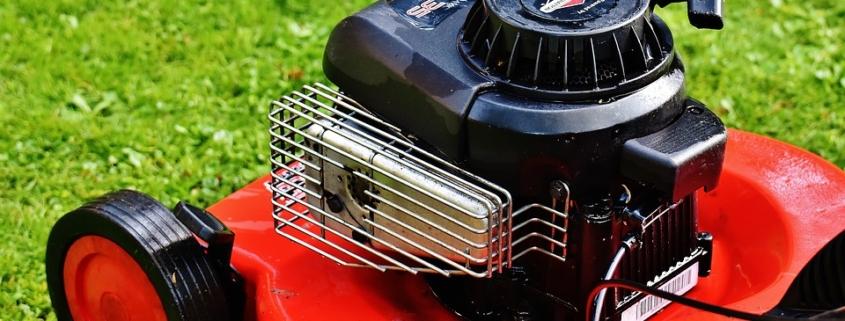 benzine in luchtfilter grasmaaier