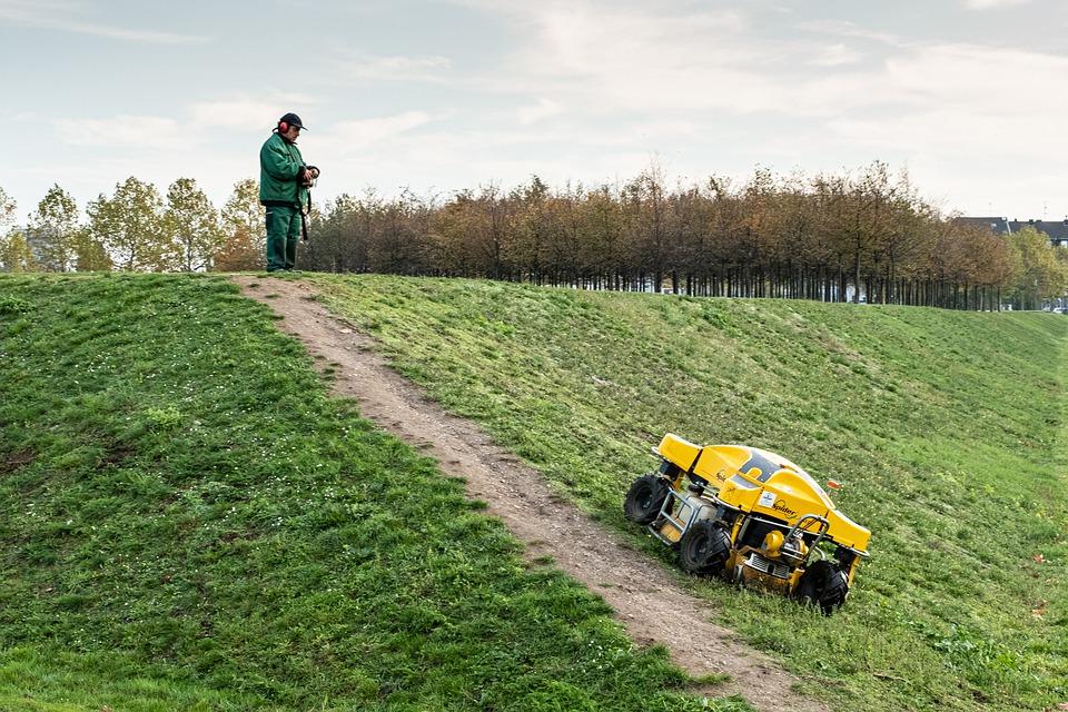 grasmaaier voor dijken